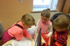 Lumememmepäev lasteraamatukogus